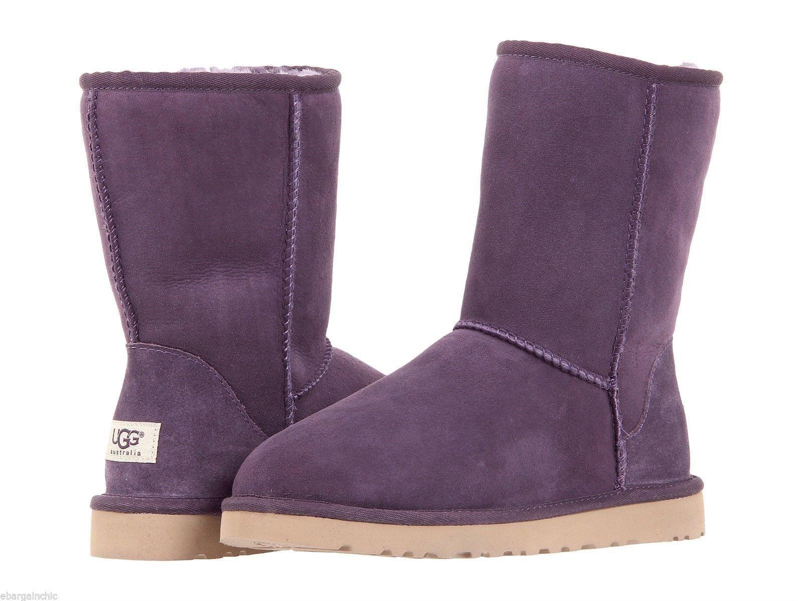 1769ddccb70 Ugg Australia Women's Classic Short Sheepskin Boots Item# 5825 Size ...