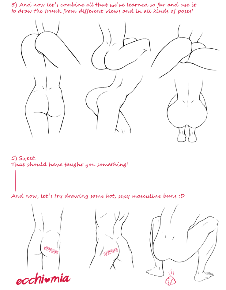 A collection of anatomy and pose references for artists. | Art Tutor ...