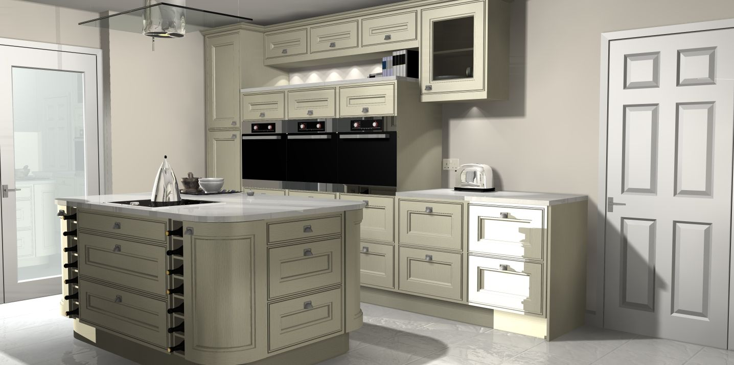 Alternatives to kitchen cabinets