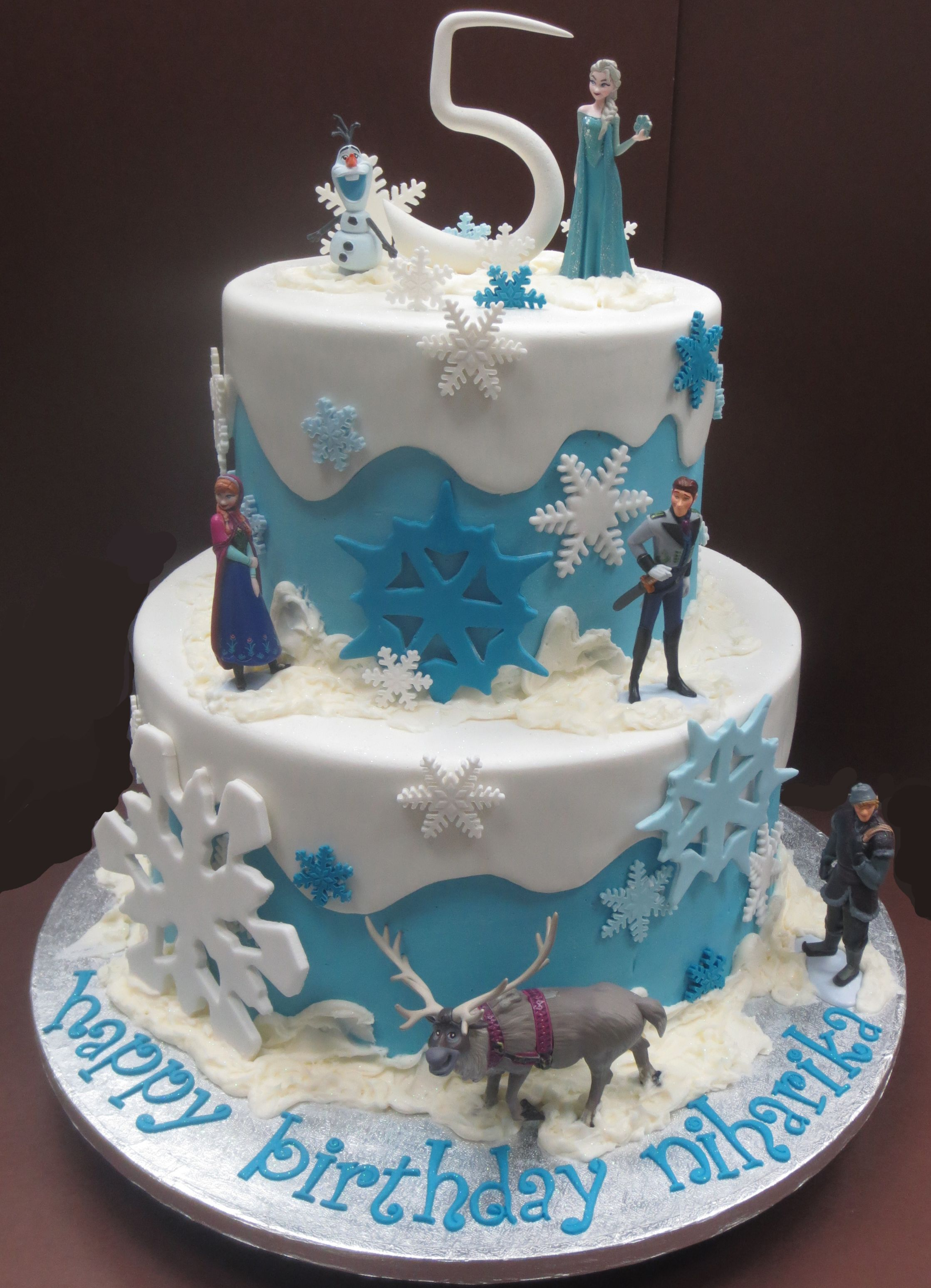 Cake Designs Of Frozen : Frozen cake - my daughter would love this. She is a huge ...