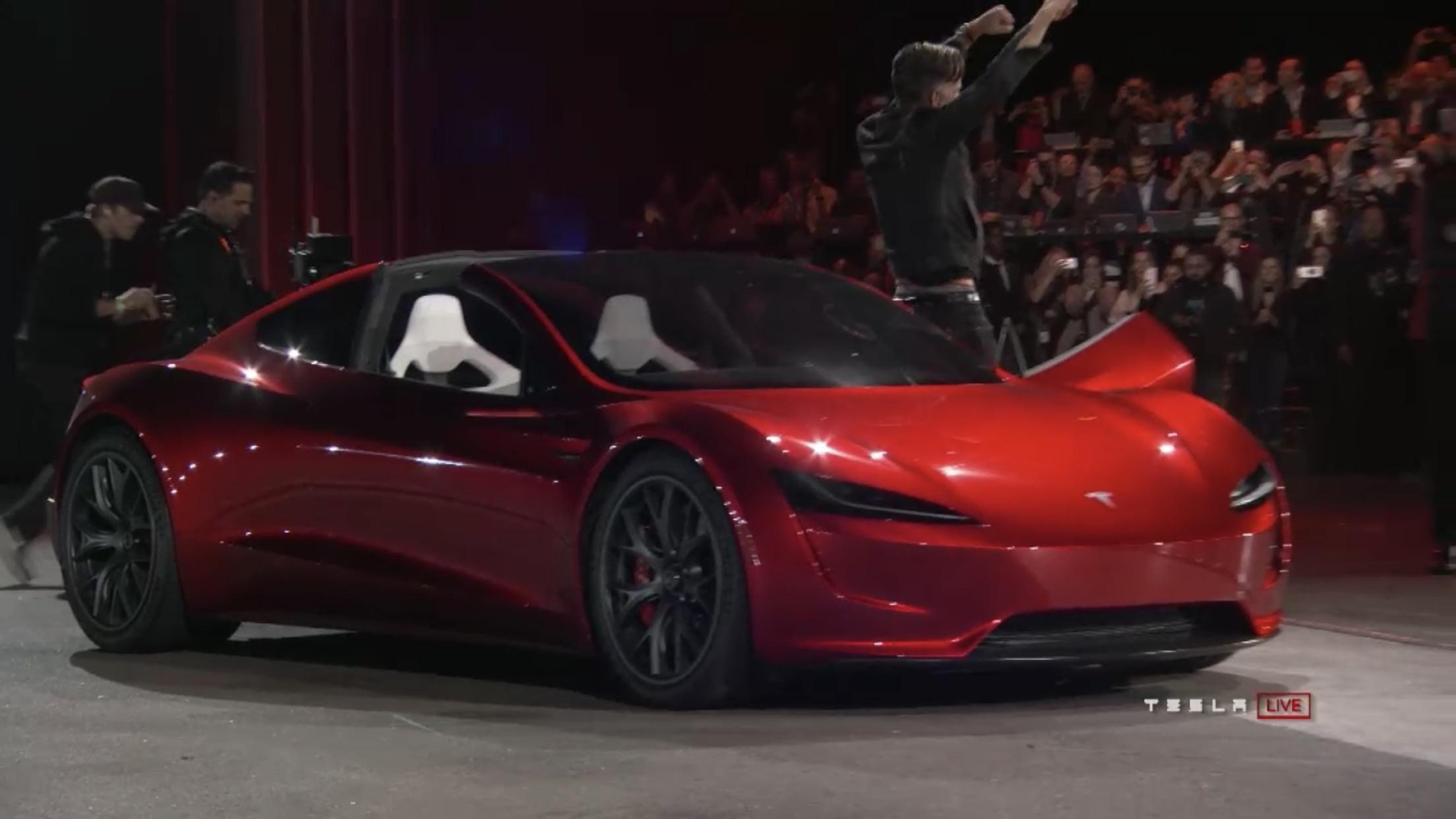 New Tesla roadster with 600 range 1.9s 060 Tesla