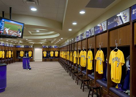 Lsu Baseball Locker Room Lsu Tigers Baseball Lsu