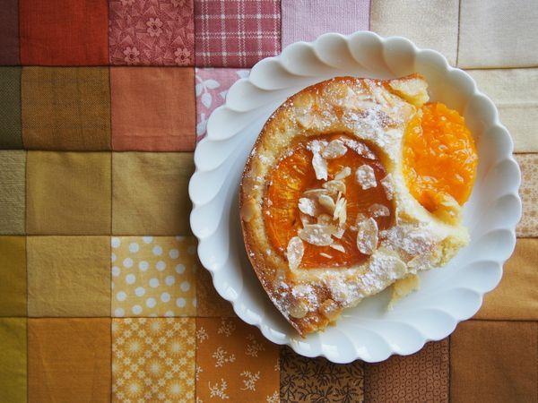 Gateau aux abricots