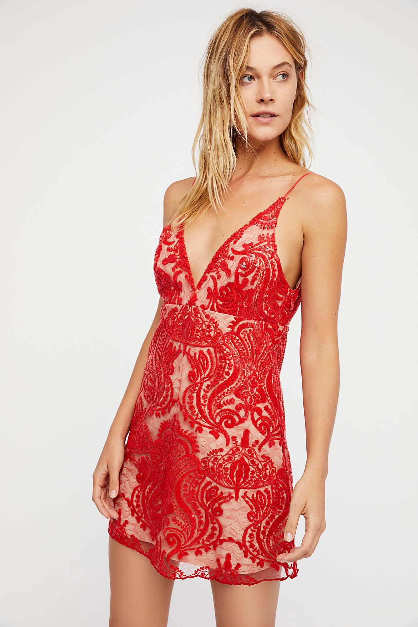 cccb46aa4ad7 Night Shimmers Mini Dress by Free People in 2019 | Products | Hoco ...