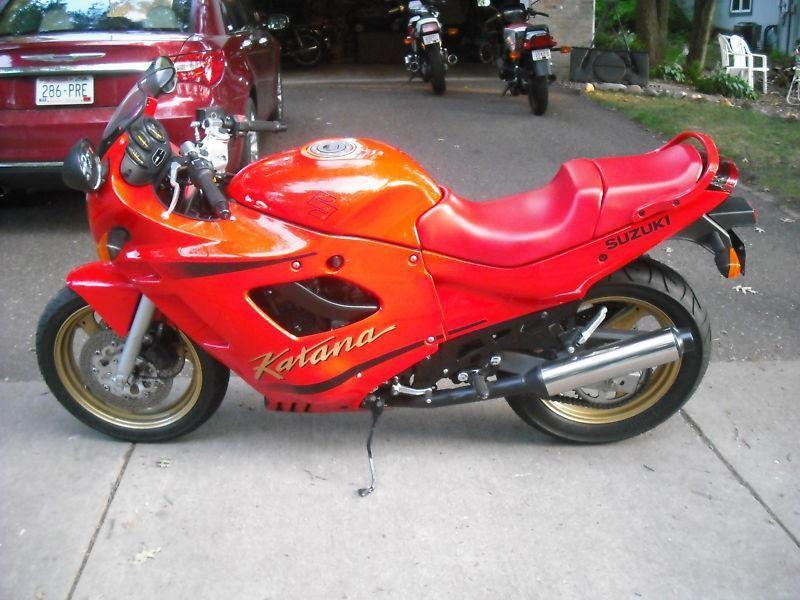 Buy 1990 Suzuki Gsx Katana 600 On 2040 Motos Suzuki Gsx Suzuki Gsx
