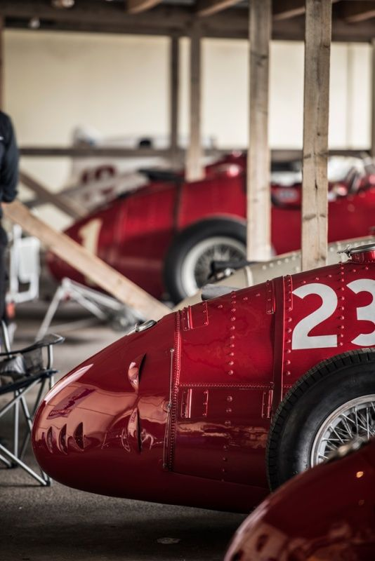 How the magical Monza pits were recreated for the Revival | Classic Driver Magazine