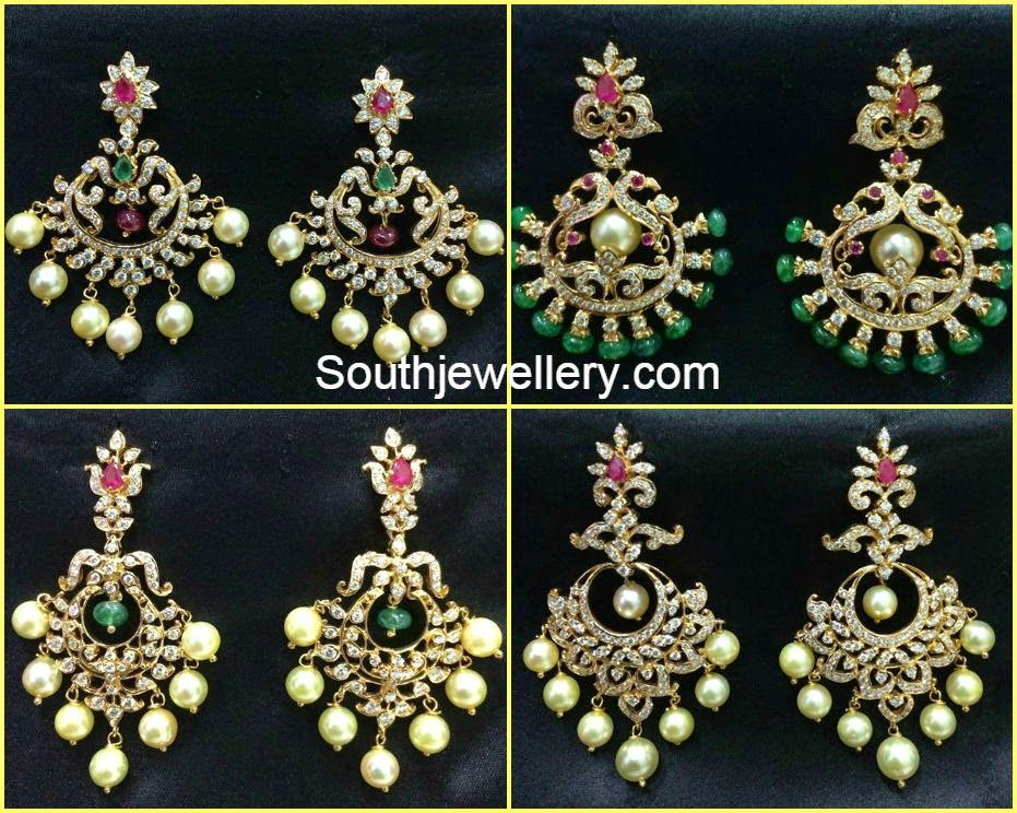 diamond chandbalis Jewellery Pinterest Indian style Diamond