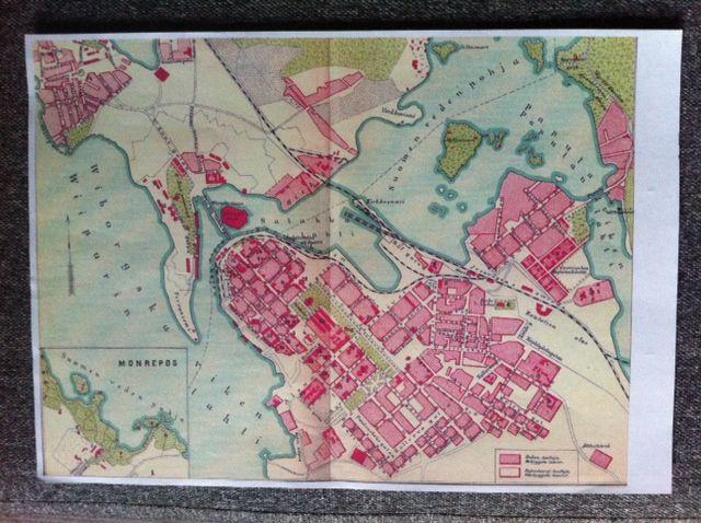 Viipurin Kartta 1939
