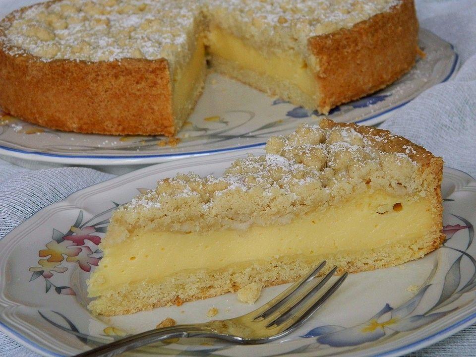 Streuselkuchen mit Pudding #simplecheesecakerecipe