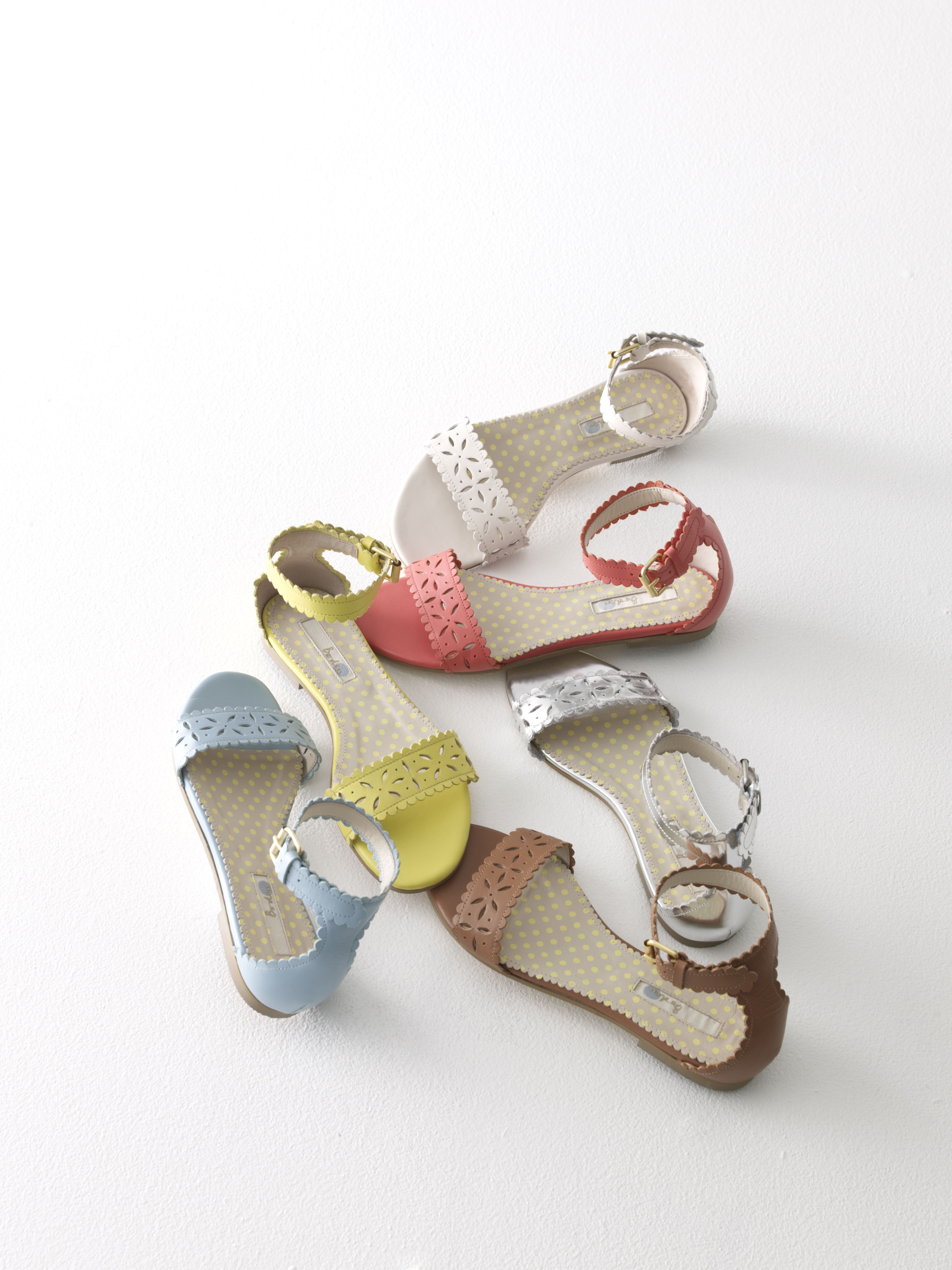 c4b3be549c6 Boden Flora Sandals  Love the yellow