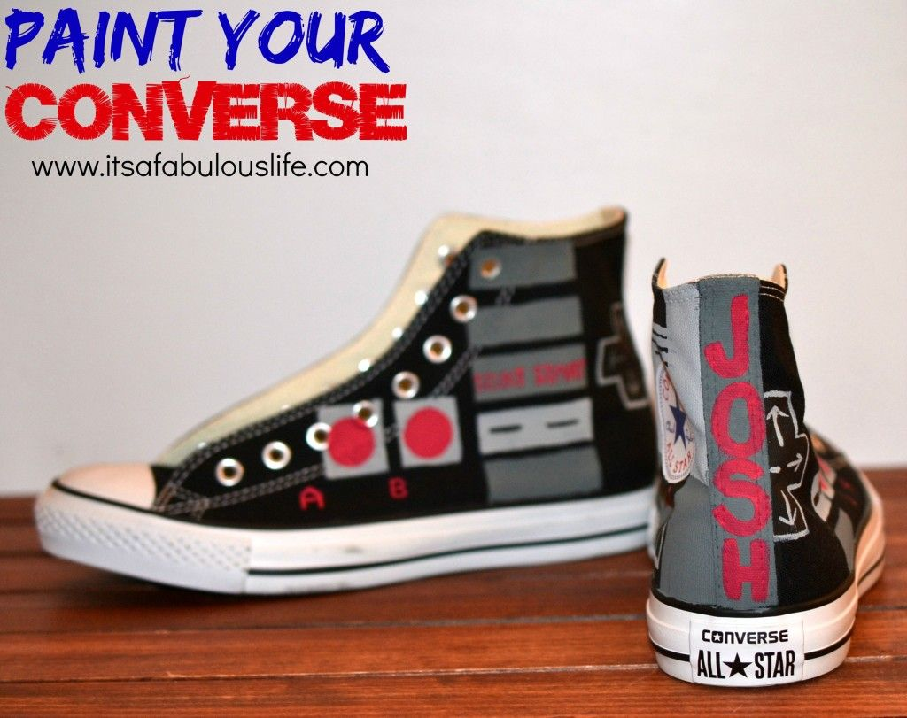 7721c982e6fd spain converse white all star oxford womens trainers da0d7 b44f4  hot how  to paint your converse sooo much easier than you think let kids design their