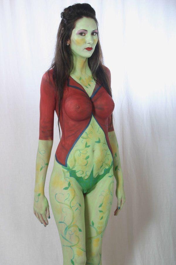 nerdy body paint nude