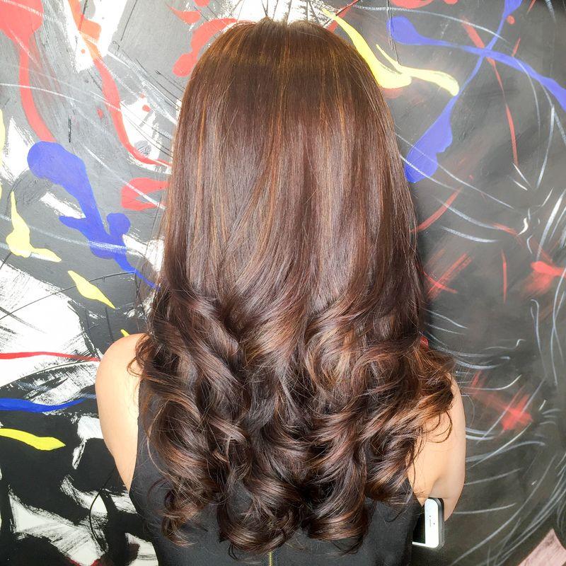 S Curve Rebonding Hair Styles Hair Studio Hair Beauty