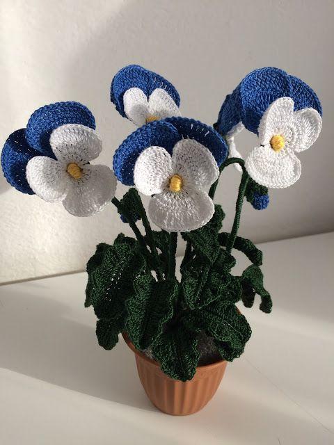 Il Blog Di Sam Crochet Pinterest Fleur Crochet Tricot Et