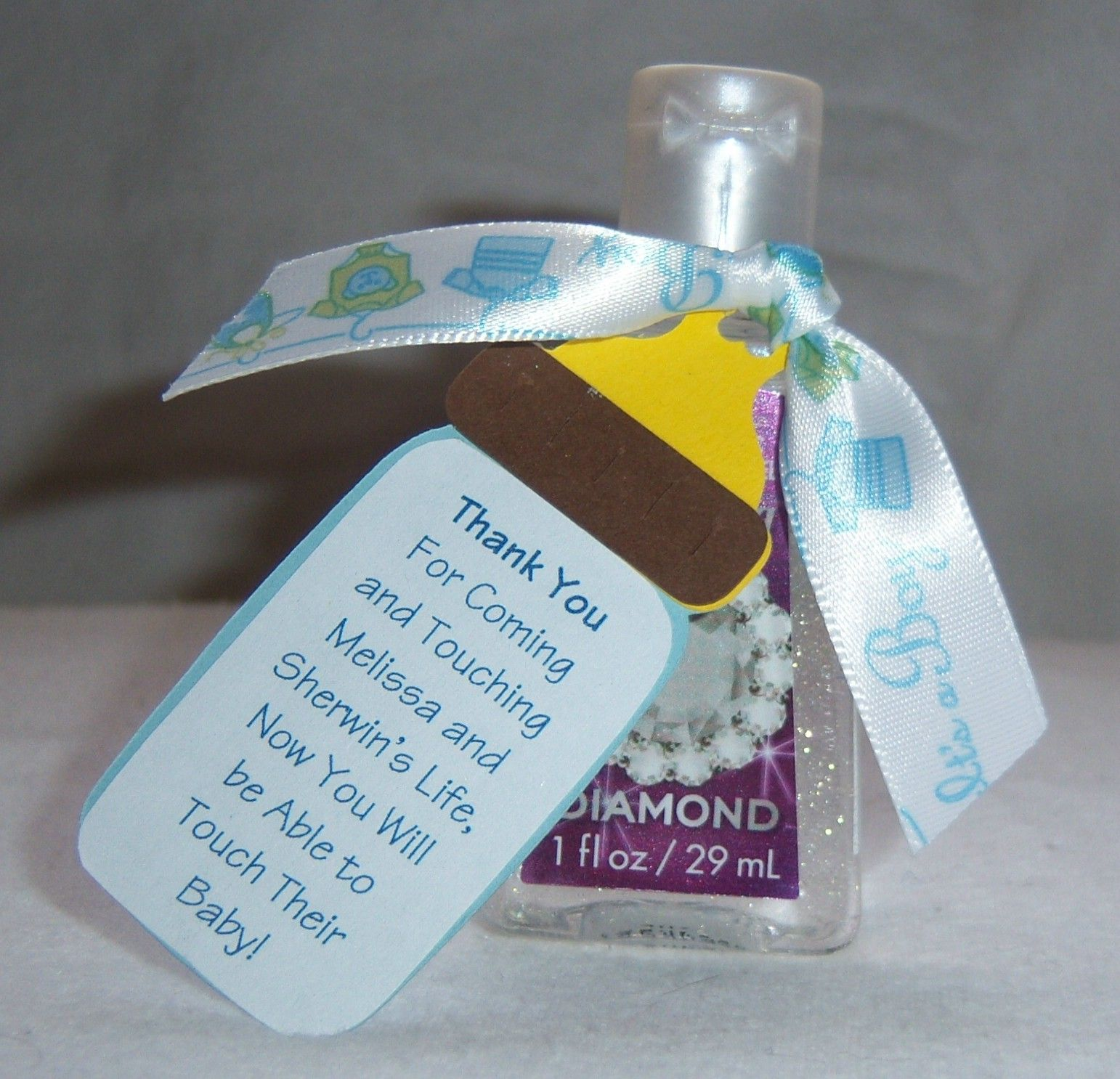 Hand Sanitizer Favor My Daughter Saw This On Here And Sent It To