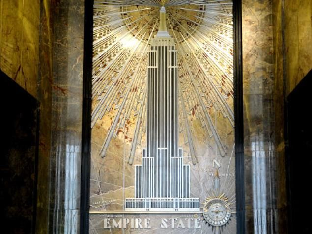 Empire State Building S Iconic Art Deco Style And Views Remain Unchanged Since Opening May 1 1931 Art Deco Architecture Empire State Building Empire State
