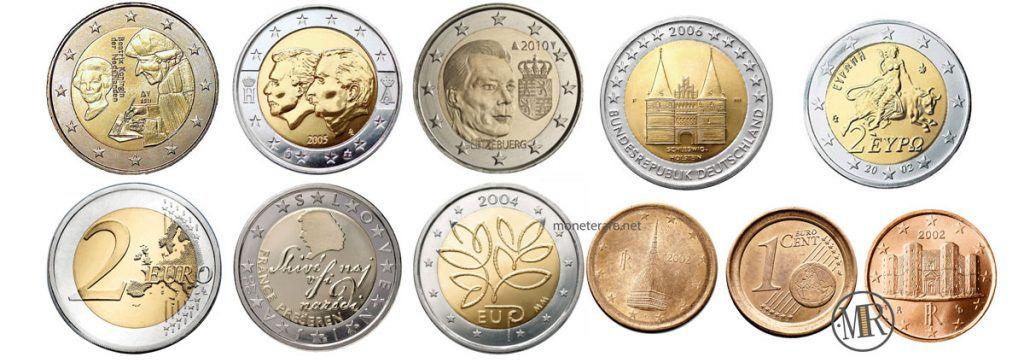 Monete Euro Rare Il Valore Dei 2 Euro Rari E Dei 2 Centesimi