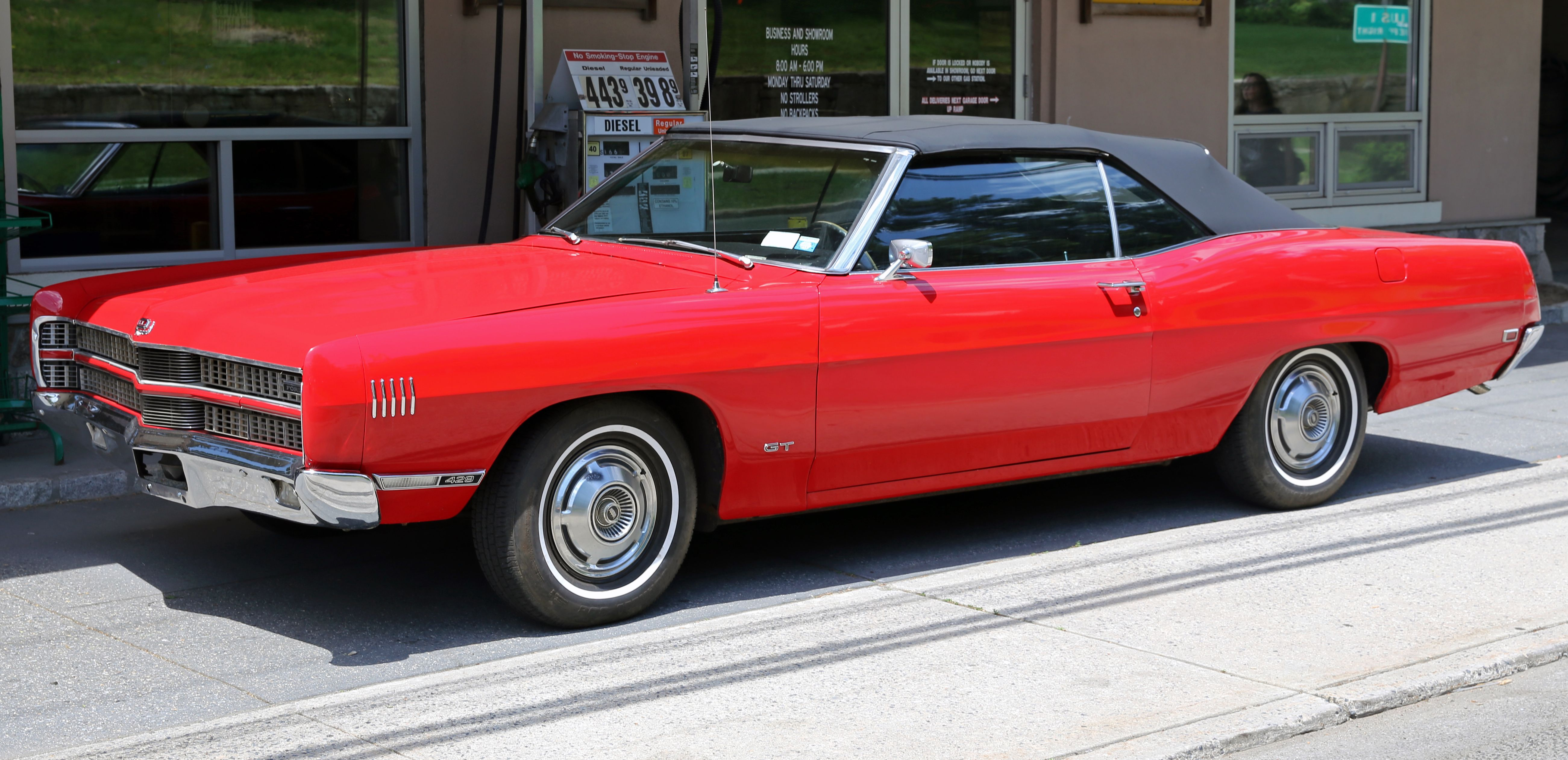 1969 Ford XL GT 429 Convertible