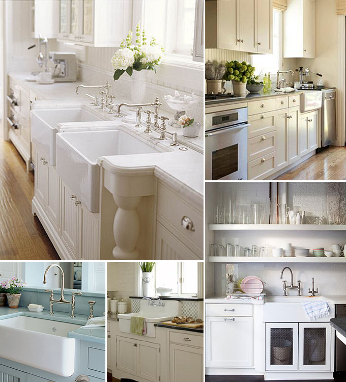 Cottage Kitchen Sinks: DIY:: 5 Beautiful Cottage Styled Farmhouse Sink Ideas