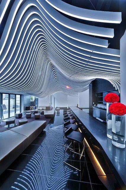 Repetition In The W Hotel Downtown, NYC // Repetición En El W Hotel De