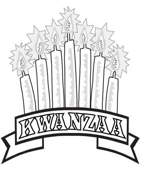 December Holiday Kwanzaa Coloring Pages Coloring Pages Kwanzaa Printable Coloring Pages