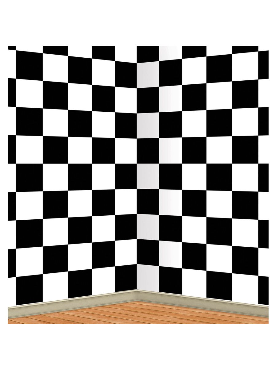 Check Out Black And White Checkered Backdrop From Wholesale Party Supplies In 2020 White Backdrop Wall Murals Backdrops