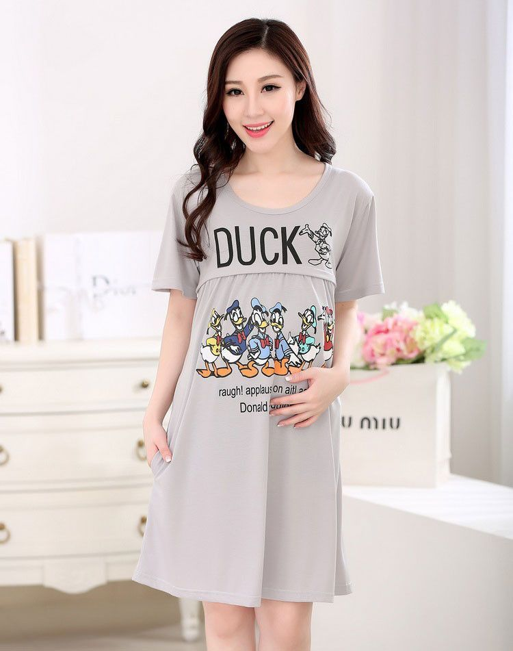 5840f26328fed Pajamas Maternity sleepwear pajamas maternity clothes for pregnant women  motherly nightgowns nursing tops breastfeeding shirt