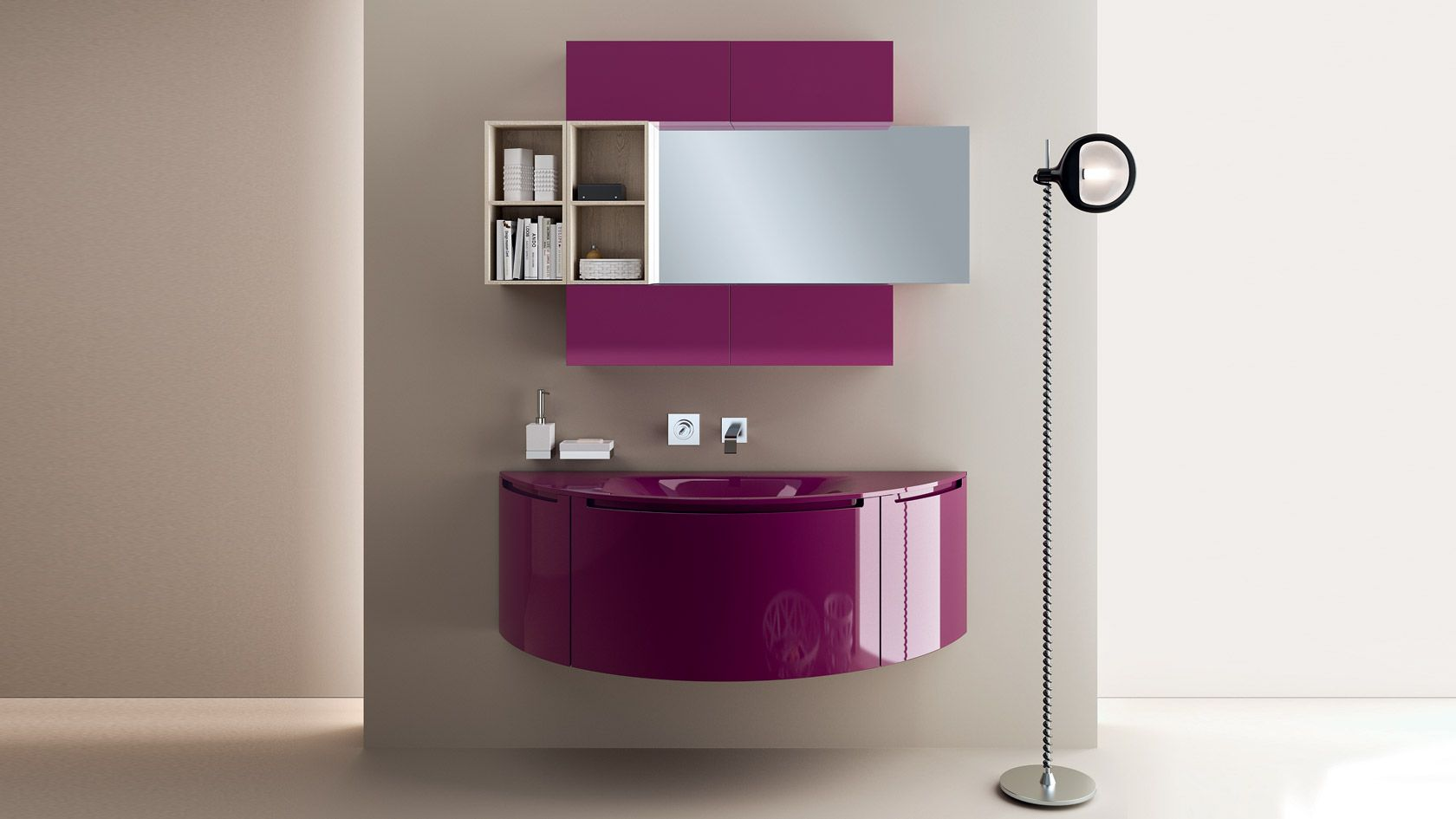 Pin di Tiberiu Lupescu su Baie Design del bagno, Bagno
