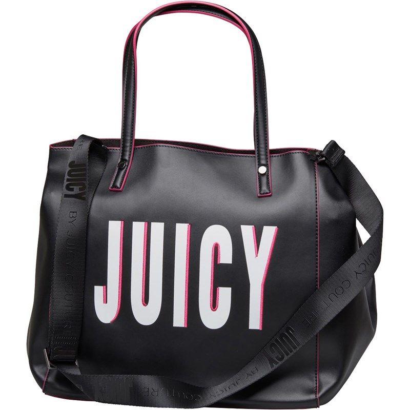 aea459484 Juicy By Juicy Couture Womens Arlington Soft Tote Bag Black Juicy ...