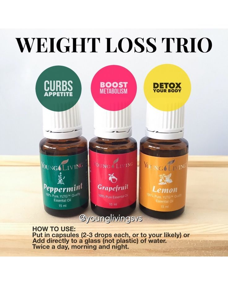 Essential Oils Weight Loss Trio : essential, weight, Favorite, Recipes