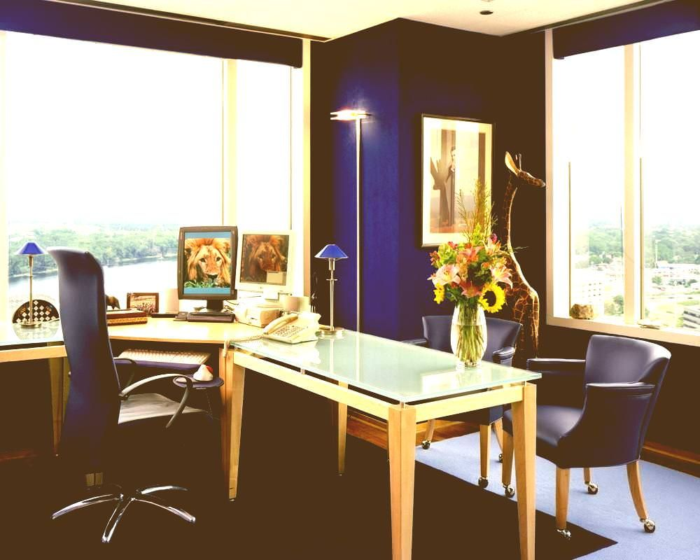 best office colors decorations di 2020 desain kantor on business office color schemes id=69286