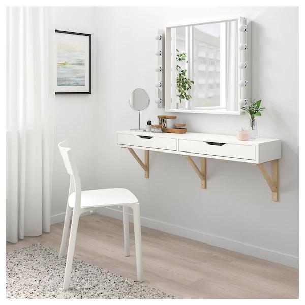 Ekby Alex Shelf With Drawers White Ikea Wall Shelf With Drawer Ikea Wall Shelves Ikea Ekby