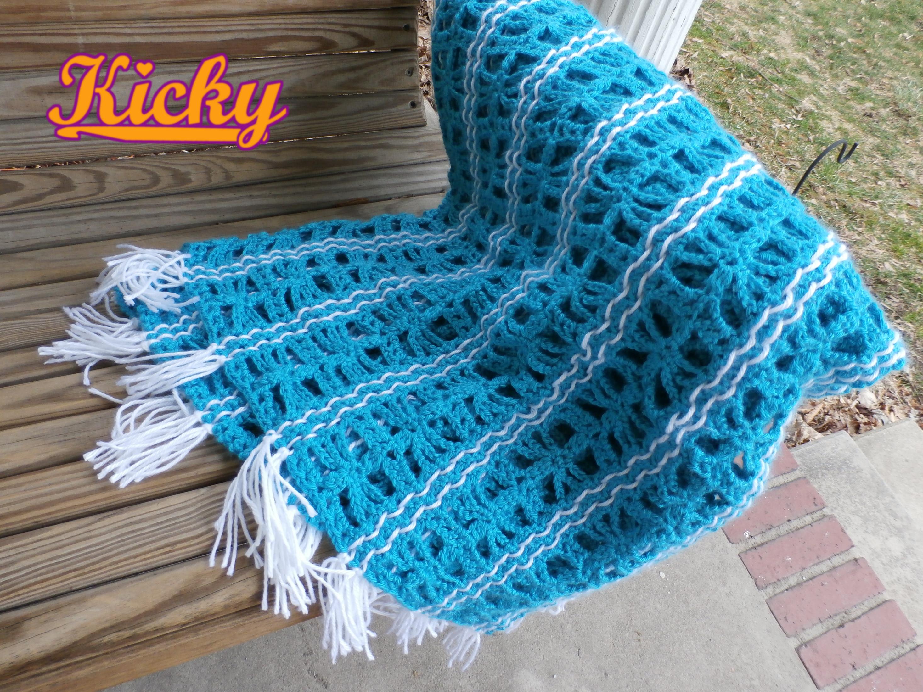 Dreamweaver Blanket - FREE Crochet Pattern | Crochet | Pinterest