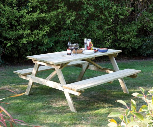 buy picnic bench delivery by waitrose garden in association with rh pinterest com