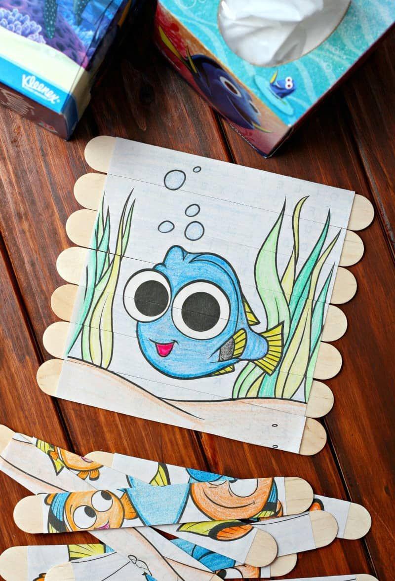 Diy puzzles diy puzzles diy kids toys puzzle crafts