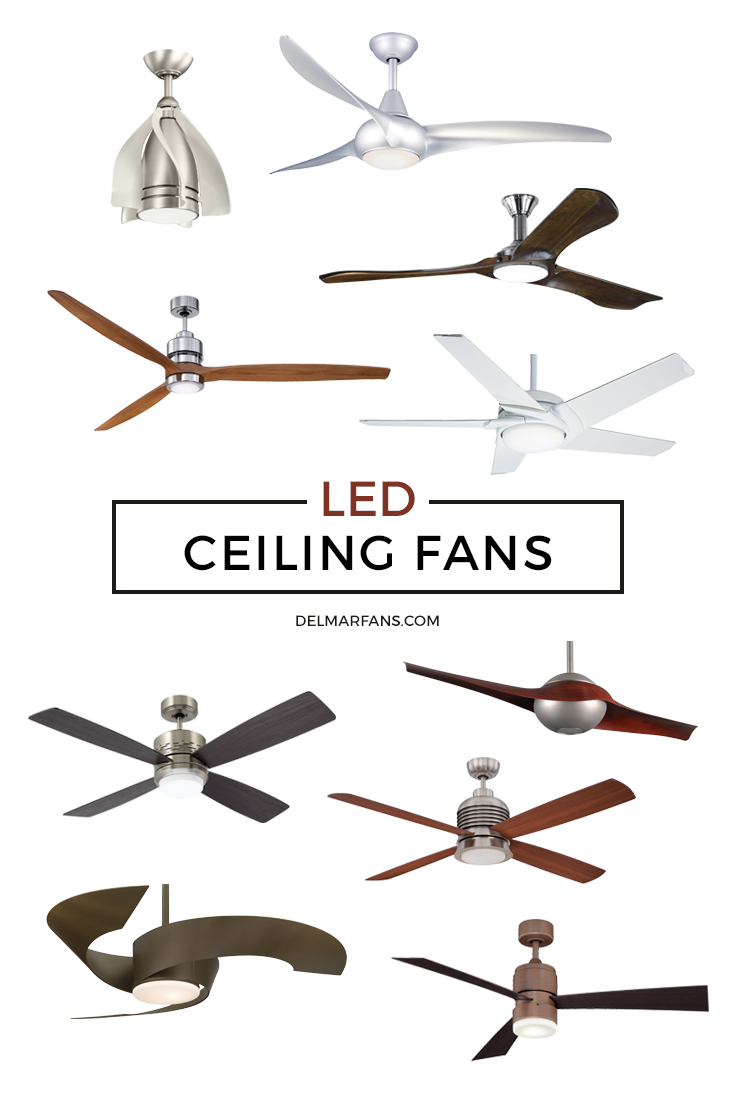 Led Ceiling Fans Are The Perfect Match Of Design And Style