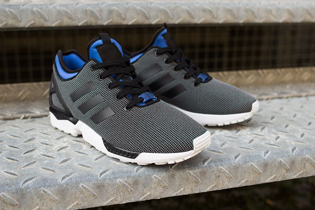 Adidas Zx Flux Blue And Black
