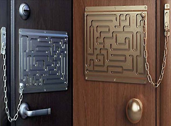 The Brilliant Maze Door Chain Lock Finally Comes To Life As A Real