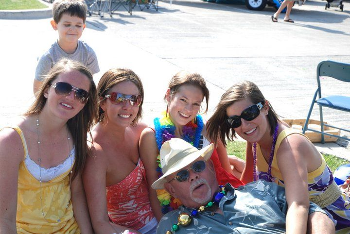 frisco tailgating with the family eddie and the girls at jimmy rh pinterest com