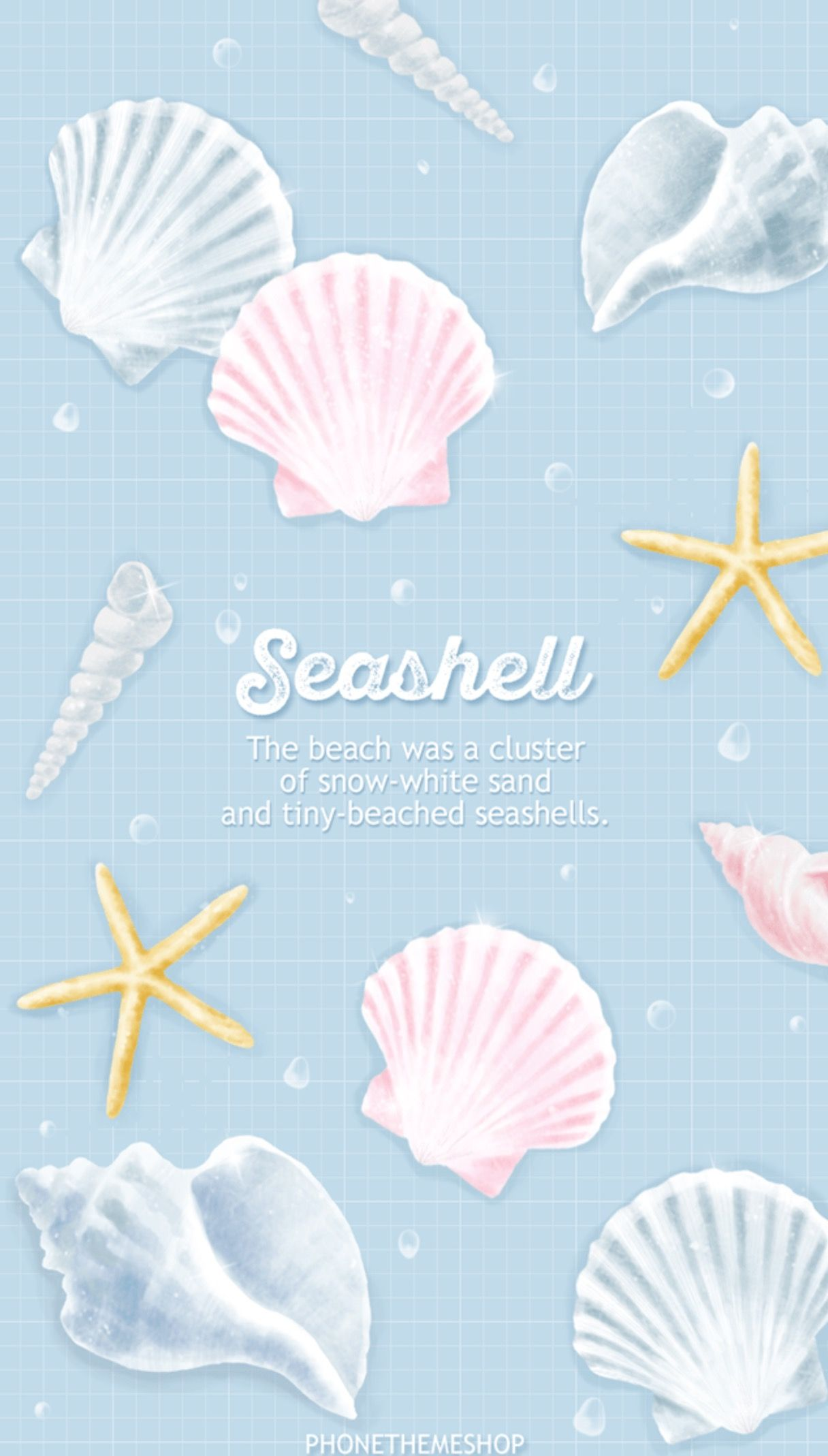 Animated Pictures Of Seashells pin鈴惠🌹 on 少女心♥︎ wallpapers | cartoon wallpaper