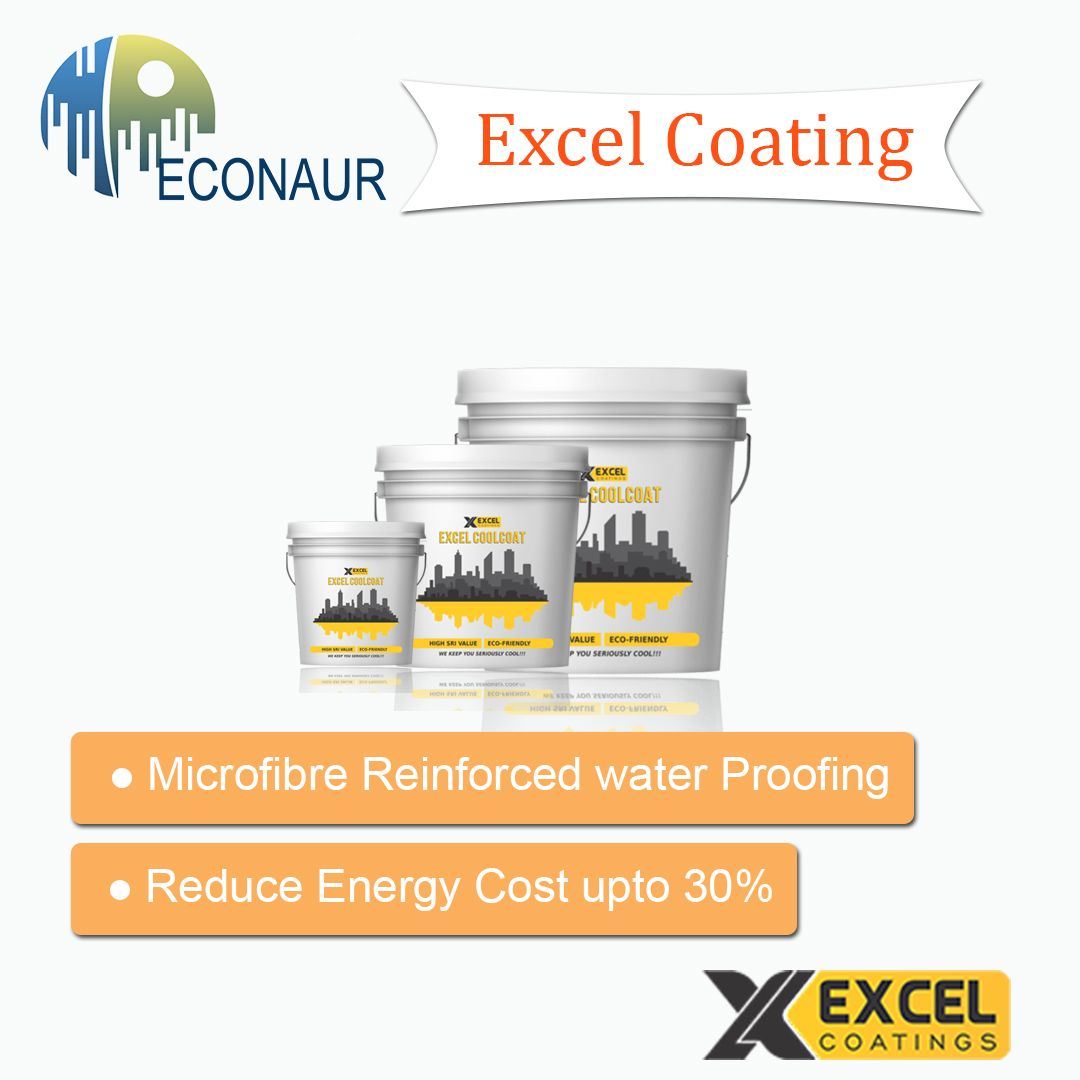 Excel Cool Coat By Excel Coatings A Sustainable Product Excel Coatings That Are Provide Sustainable Solution For Roof T Reduce Energy Costs Excel Cool Roof