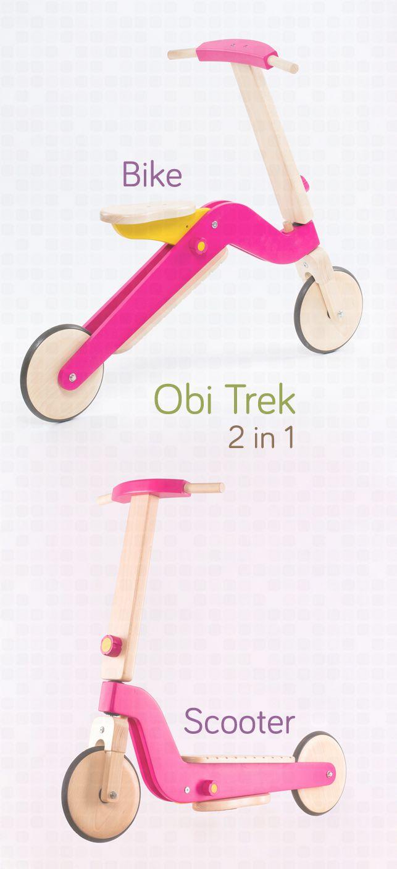mergator din lemn - pentru a duce joaca si plimbarea la un