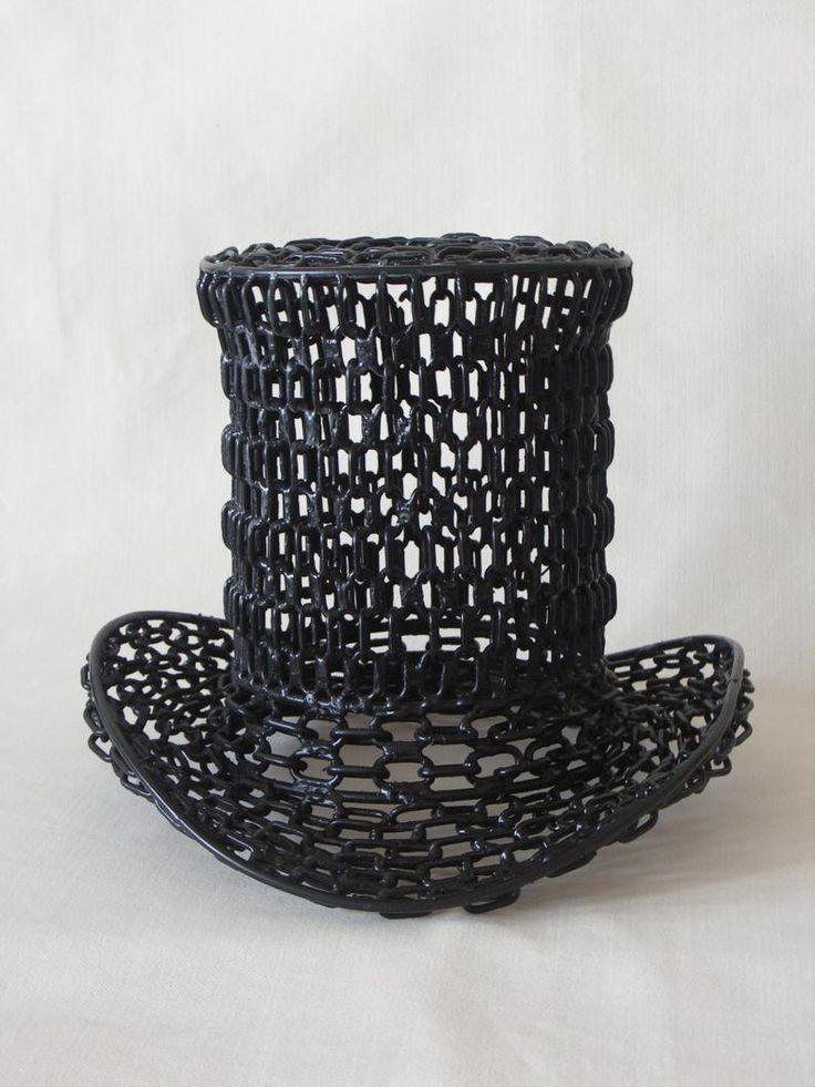 Original Modern Sculpture Cylinder Hat Fashion Art Top   Etsy