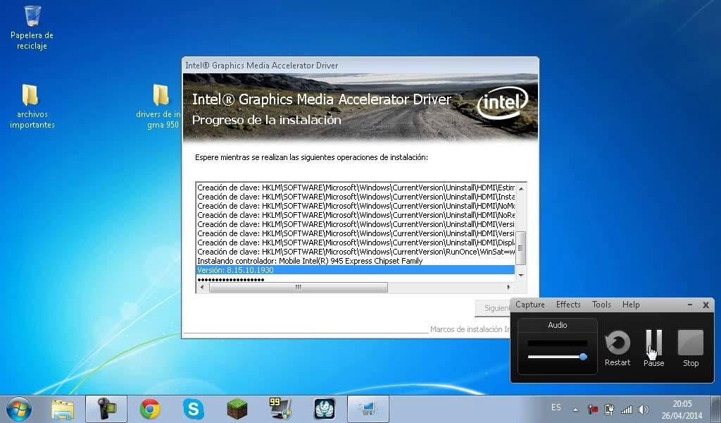 Intel Gma 950 драйвер скачать
