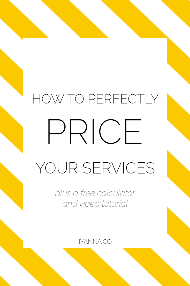 Overwhelmed with understanding how to price your services? Watch this free video tutorial about how it's done