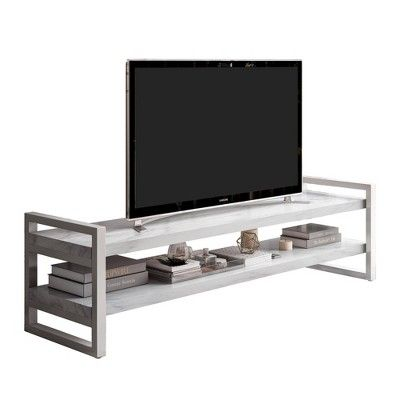 65 coco tv stand white cosmoliving in 2019 products tv rh pinterest com