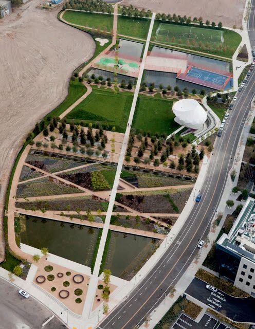 Playa Vista Park By Michael Maltzan Architects Parco Urbano Parchi Esterno