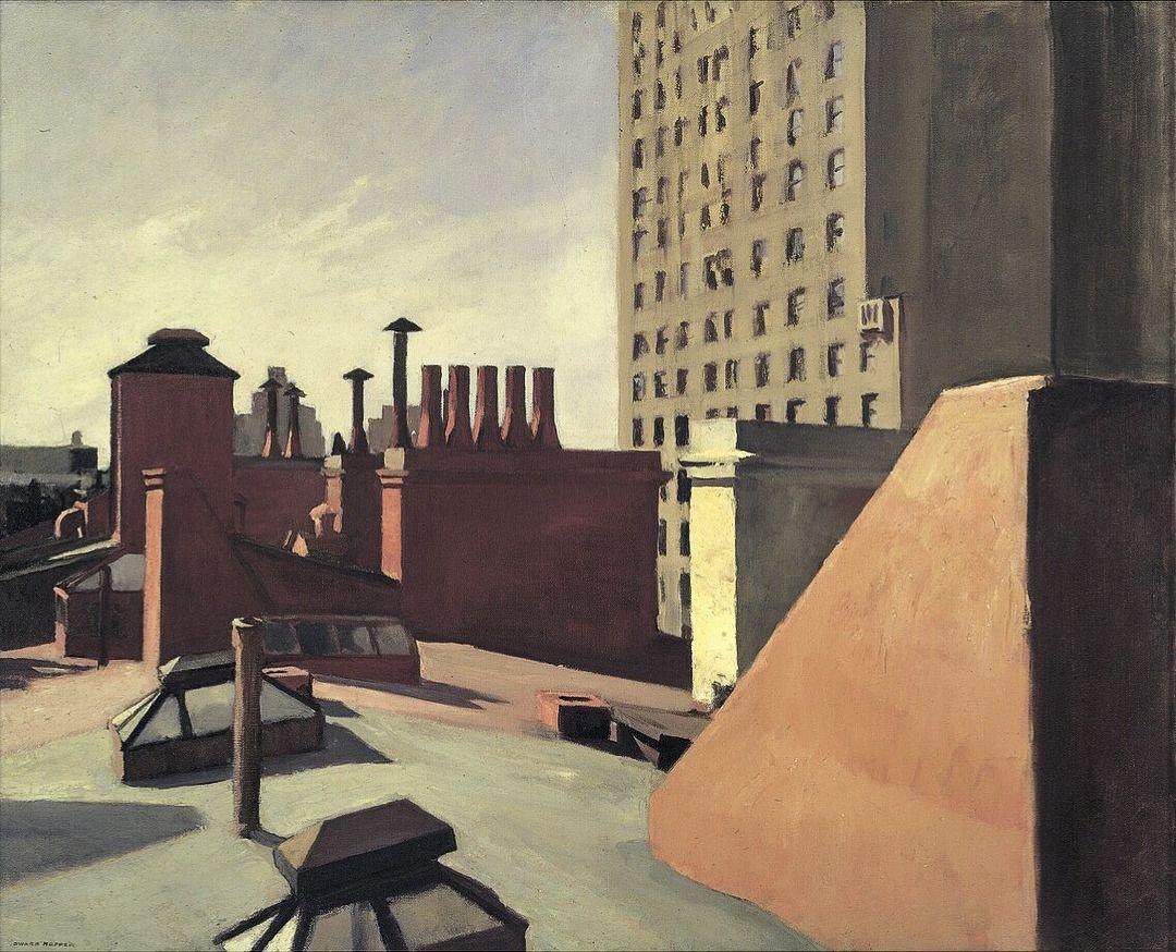 this isn't happiness™ (City Roofs, Edward Hopper), Peteski