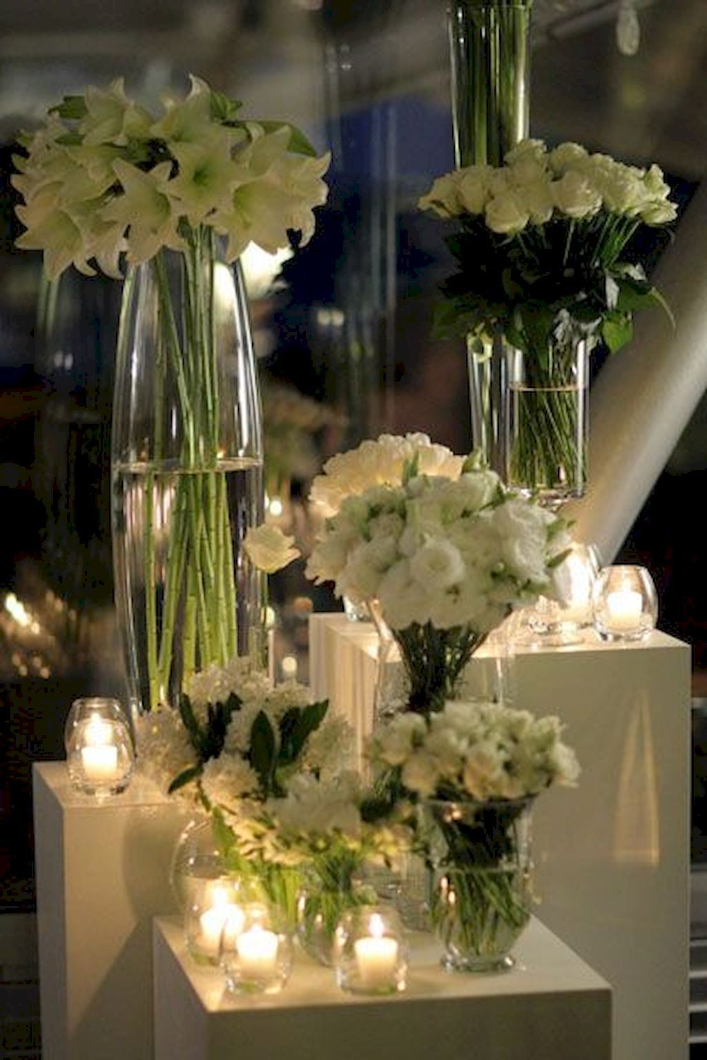 65 romantic white flower centerpiece decor ideas wedding concept rh pinterest com