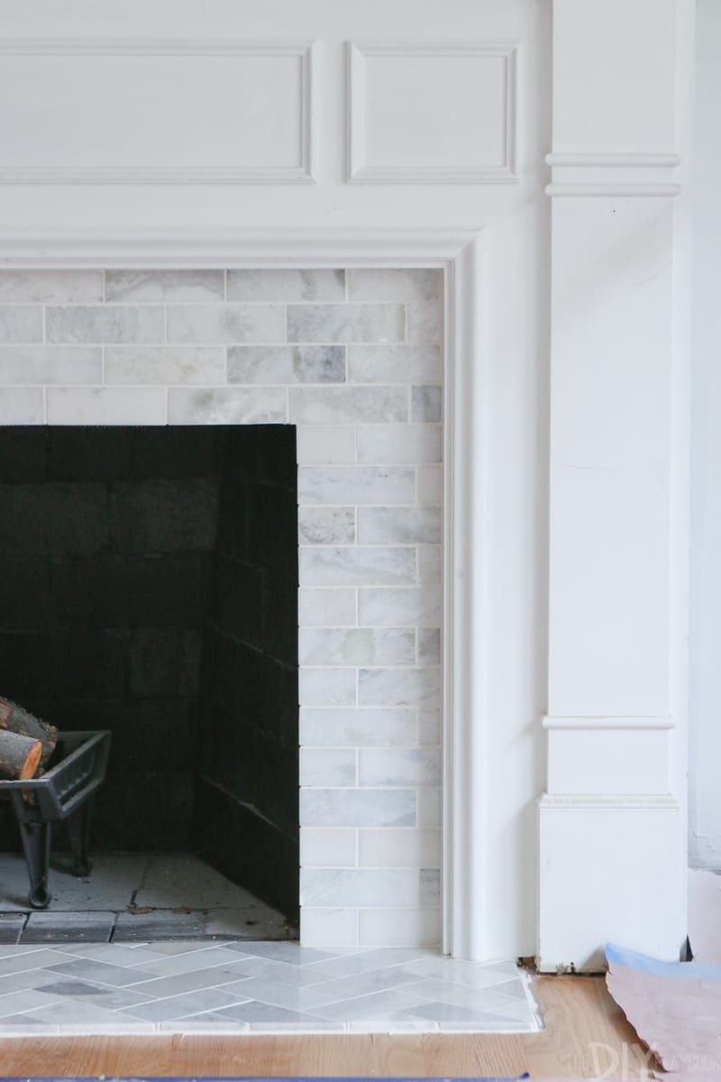 white built ins around the fireplace before and after living rh pinterest com